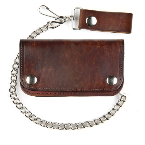 Antique Finish Leather Wallet