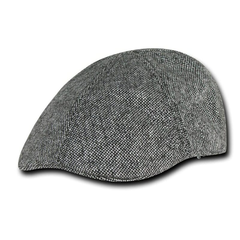 Black and White Ivy Hat