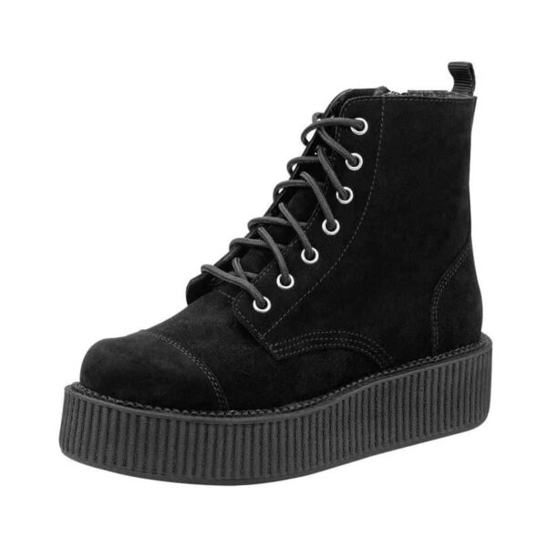 TUK Black Suede Mondo Boots A8642L