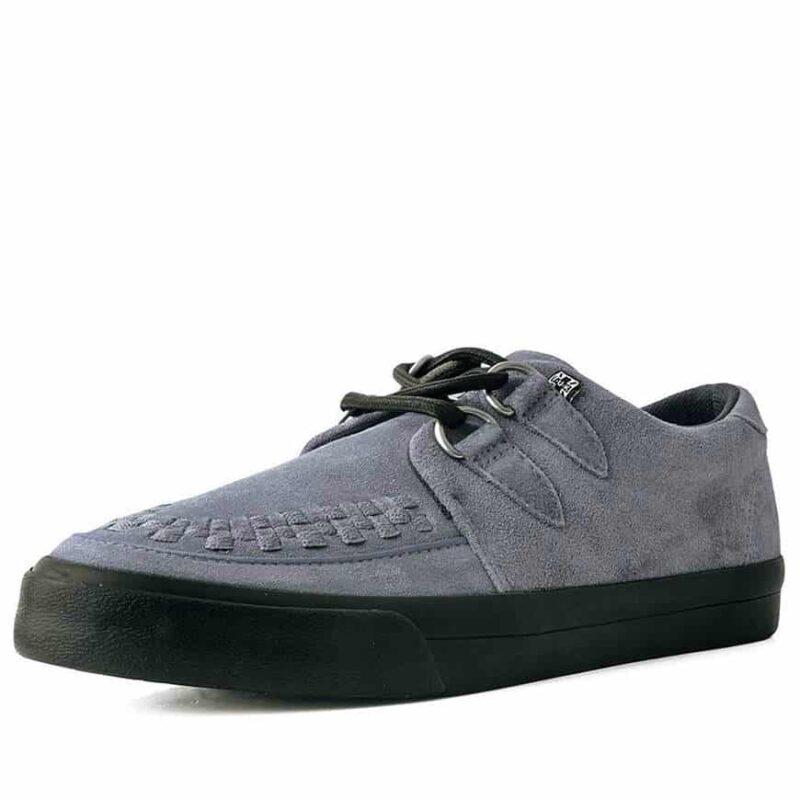 TUK Gray Suede Sneaker Creeper A9528