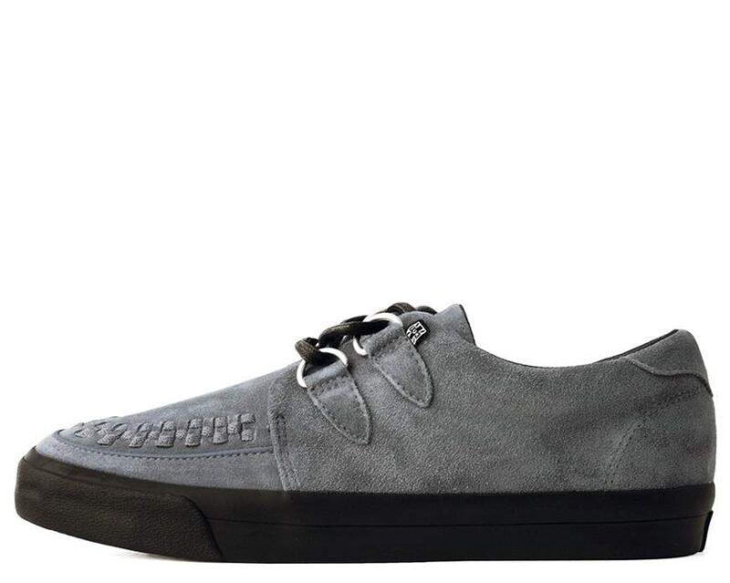 TUK Gray Suede Sneaker Creeper A9528 1