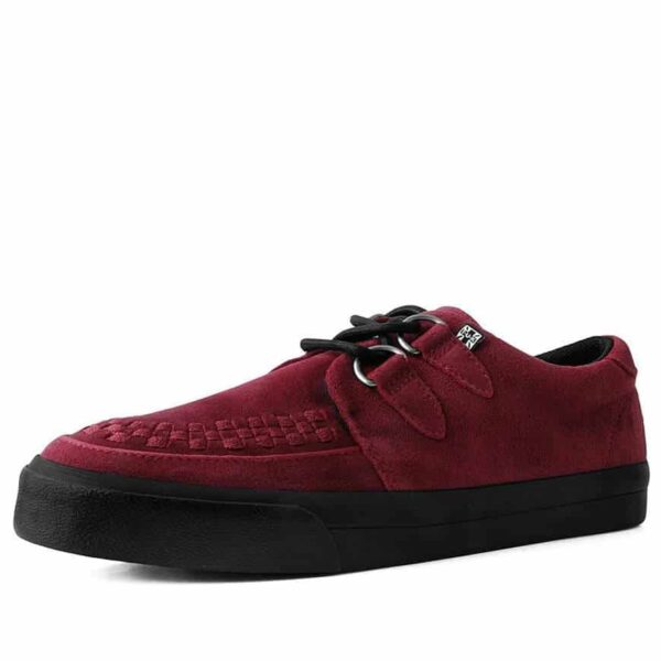 TUK Red Suede Sneaker Creeper A9529