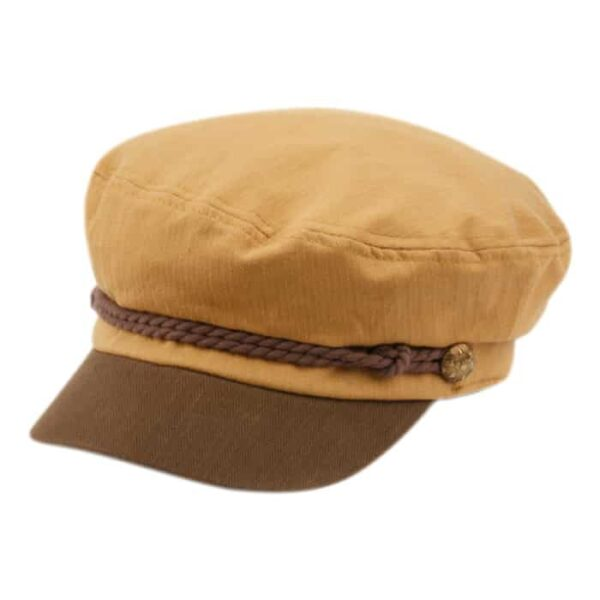 Brown and Khaki Greek Fisherman Hat