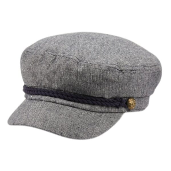 Denim Greek Fisherman Hat
