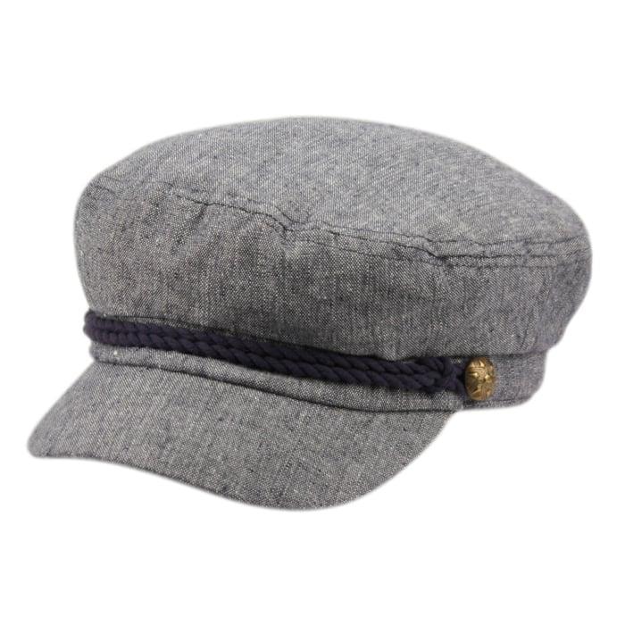 Denim Greek Fisherman Hat