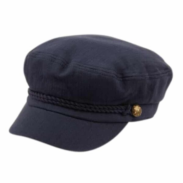 Navy Blue Greek Fisherman Hat