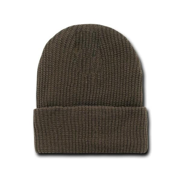 Brown Watch Cap Beanie