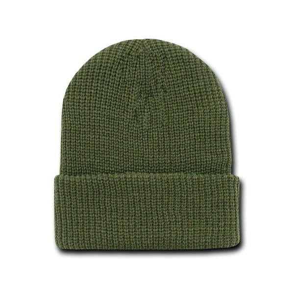 Olive Watch Caps Beanie