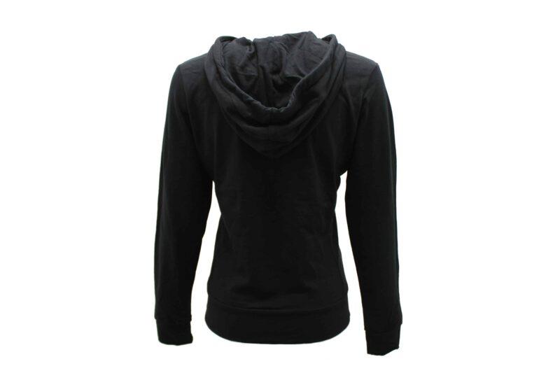 Women's Black Full Zip Hoodie 2