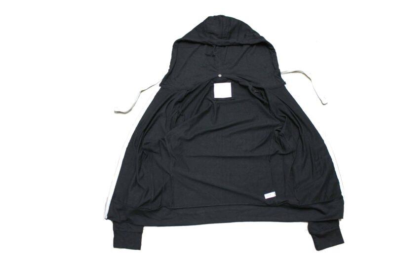 Women's Black Full Zip Hoodie 3