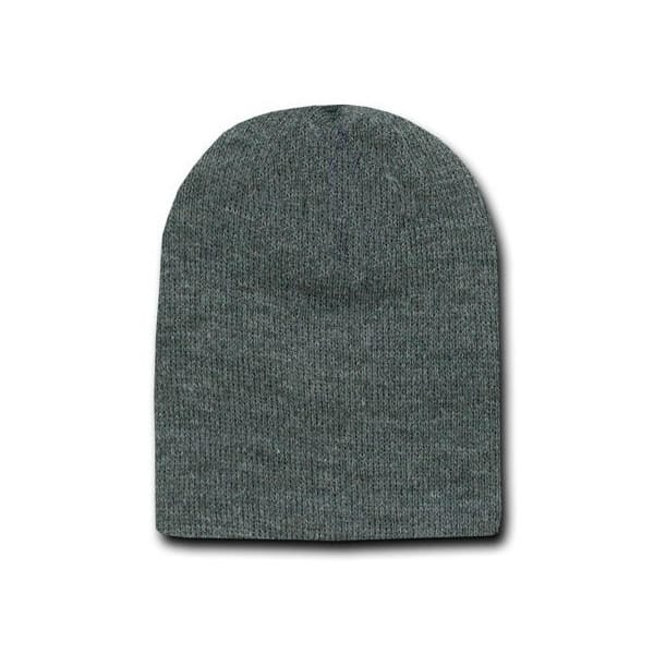 Heather Charcoal Beanie