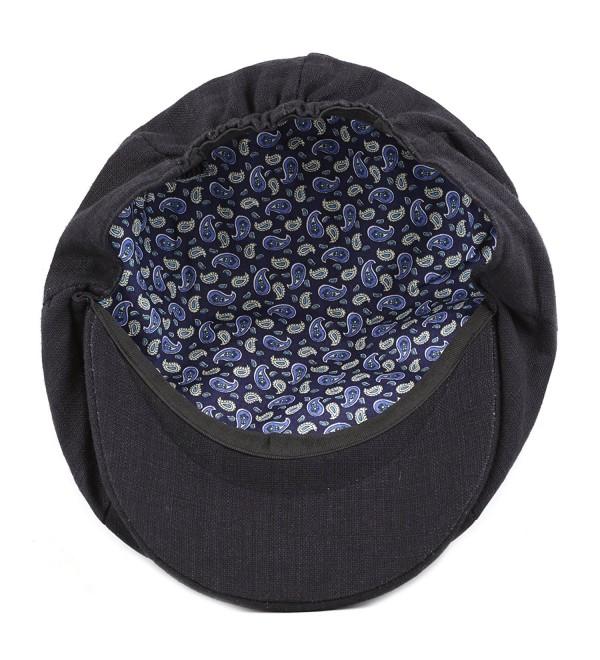 Black Cotton Ivy Hat 1