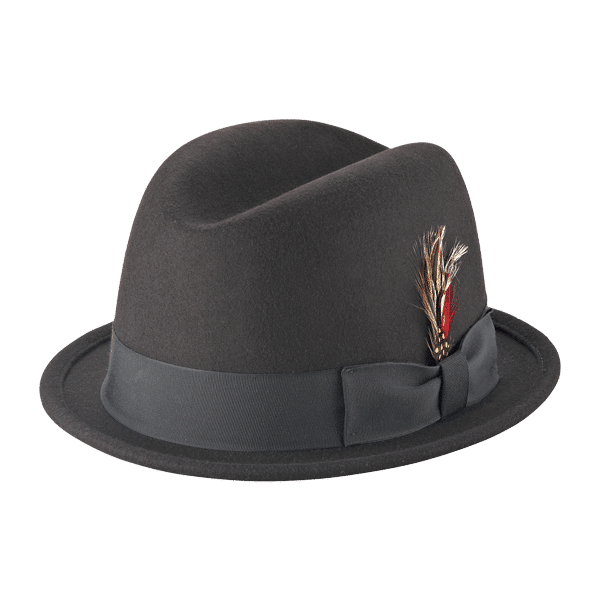 Wool Felt Rude Boy Fedora by New York Co.