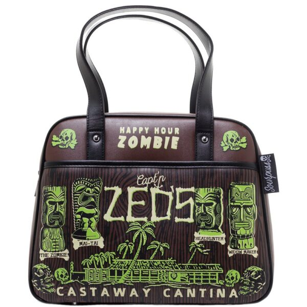 Castaway Cantina Bowler Purse by Sourpuss Clothing