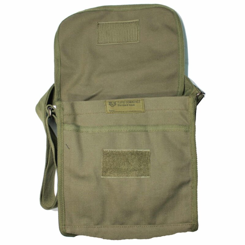 Olive Military Field Messenger Bag 3