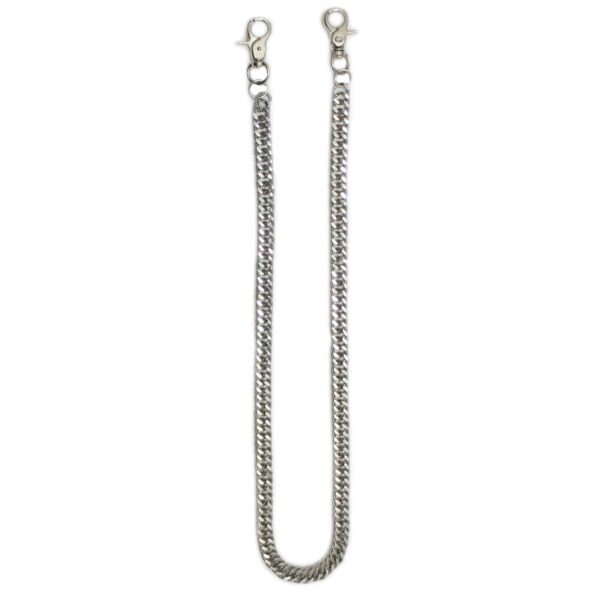 Chrome Double Link Wallet Chain