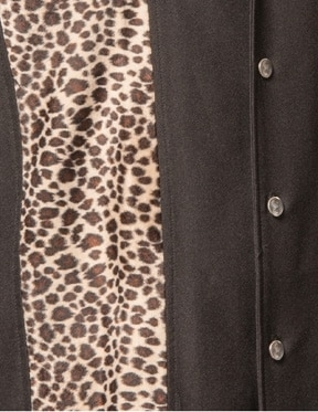 Leopard Black Bowling Shirt by Steady Clothing 1