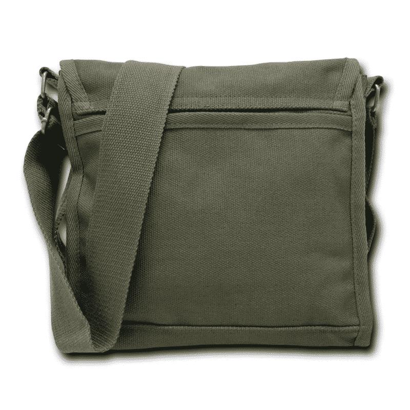 Olive Military Field Messenger Bag 2