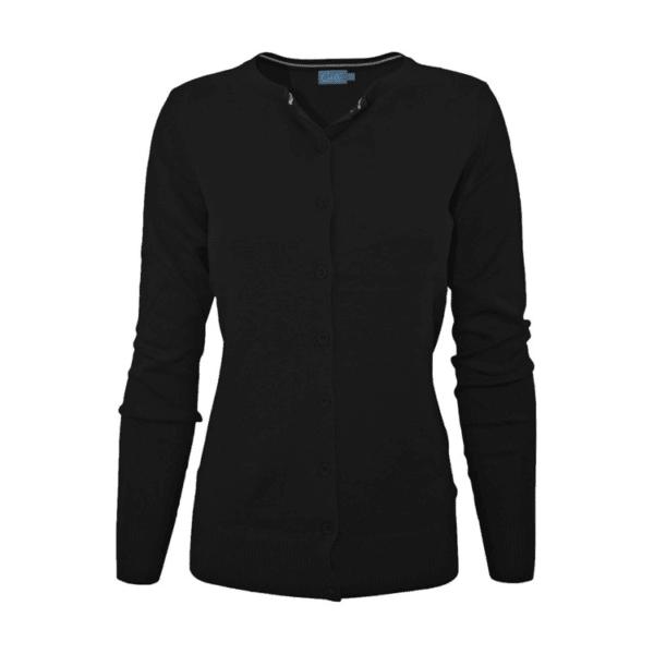 Black Knit Cardigan Sweater