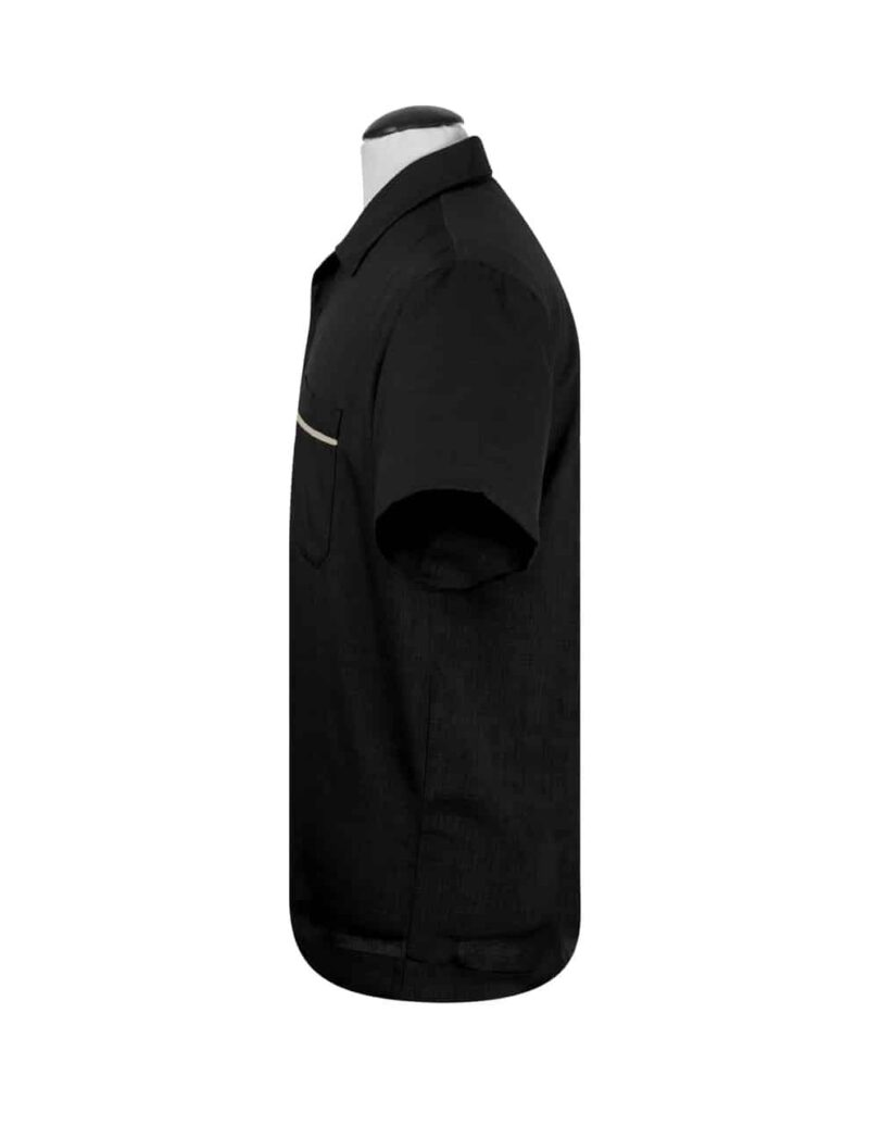 Black Sage Bowling Shirt by Steady Clothing 1