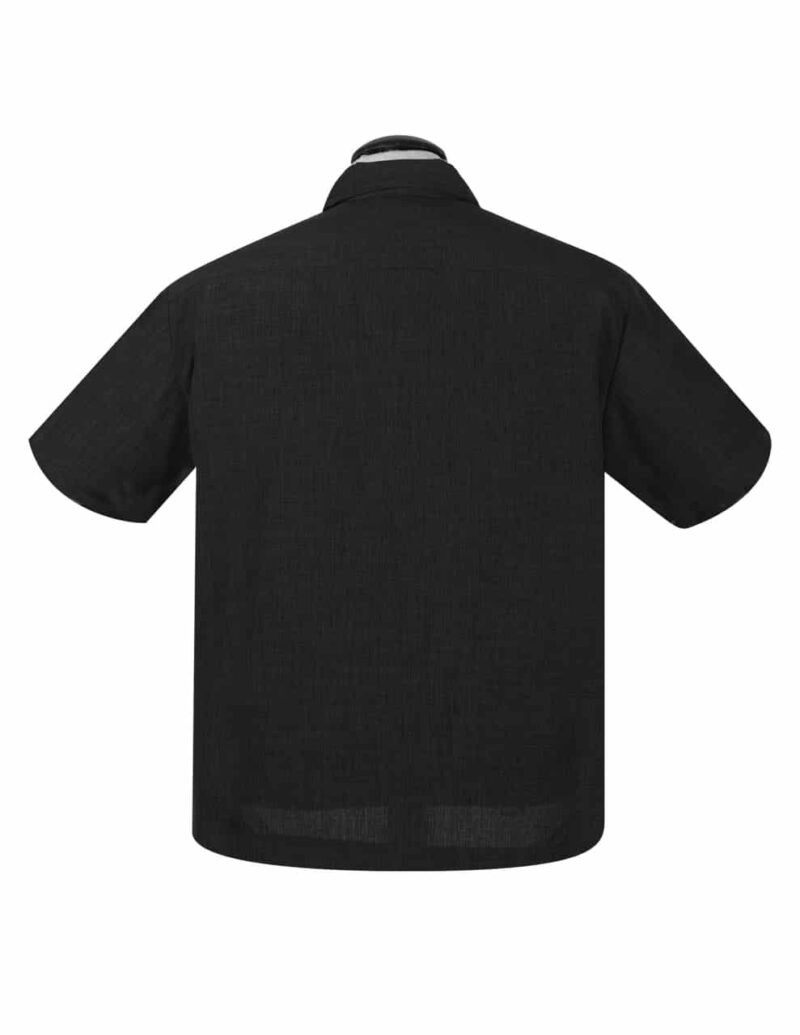 Black Sage Bowling Shirt by Steady Clothing 2