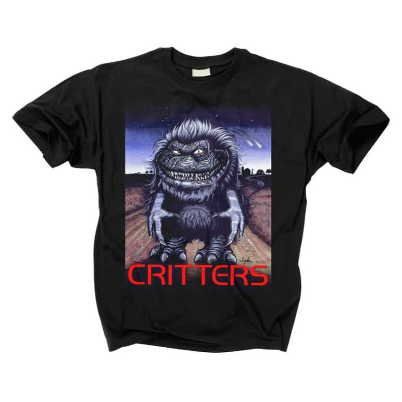 Critters Movie Poster T-Shirt