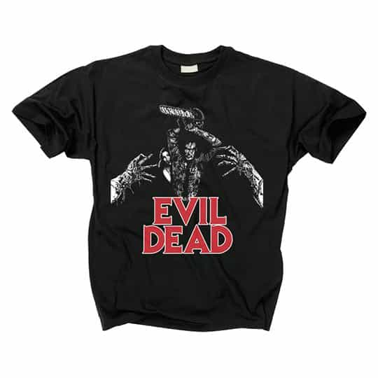 Evil Dead Ash and Linda T-Shirt
