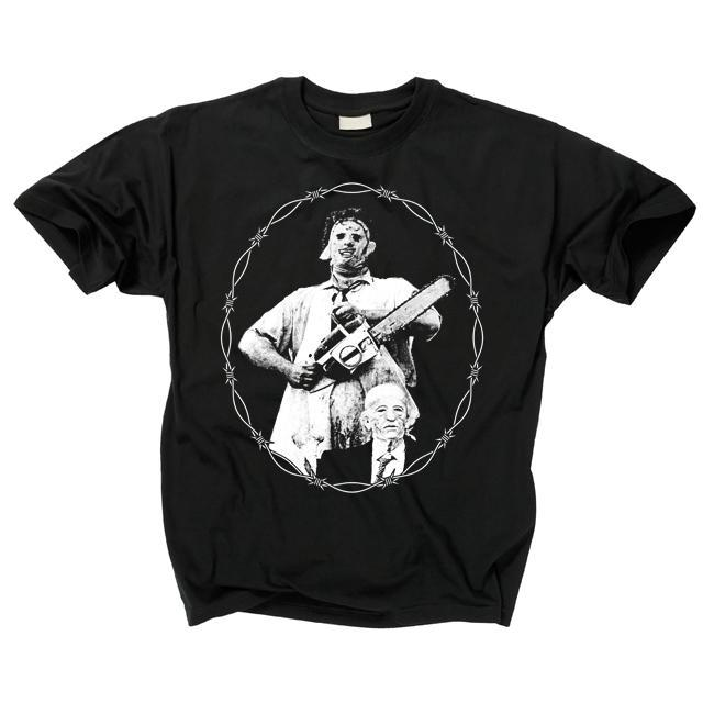 Texas Chainsaw Massacre Leatherface and Gramps T-Shirt