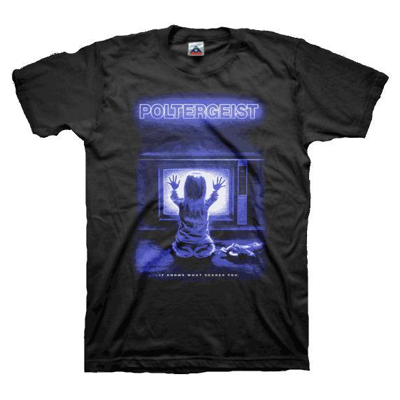 Poltergeist Carol TV T-Shirt