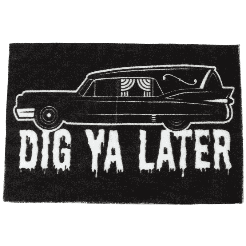 Hearse Rug by Sourpuss Clothing