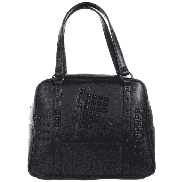 Idoless Studded Bowler Purse by Sourpuss Clothing