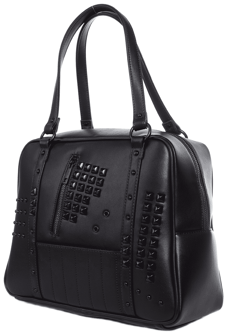 Idoless Studded Bowler Purse by Sourpuss Clothing 1