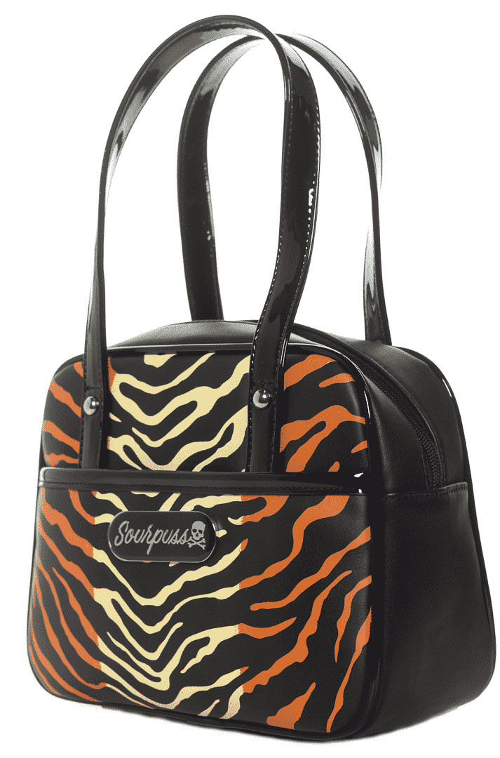 Mini Bowler Tiger Purse by Sourpuss Clothing 1