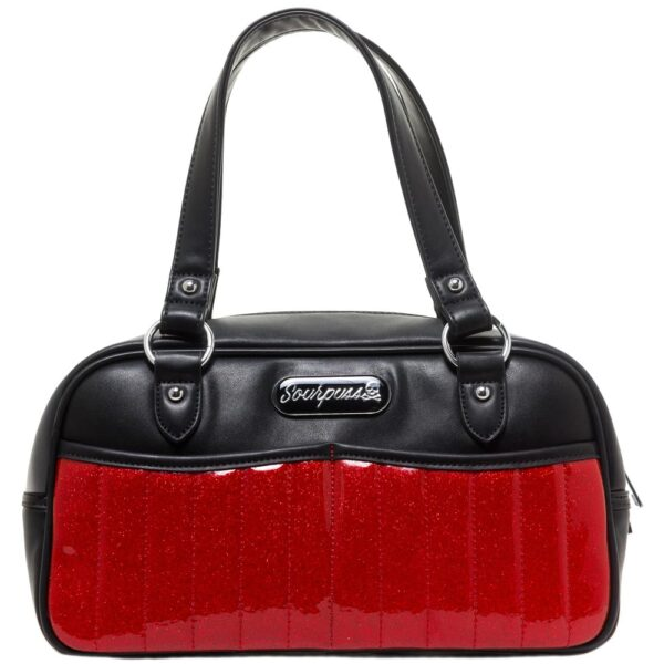 Red Sabrina Glitter Purse by Sourpuss Clothing