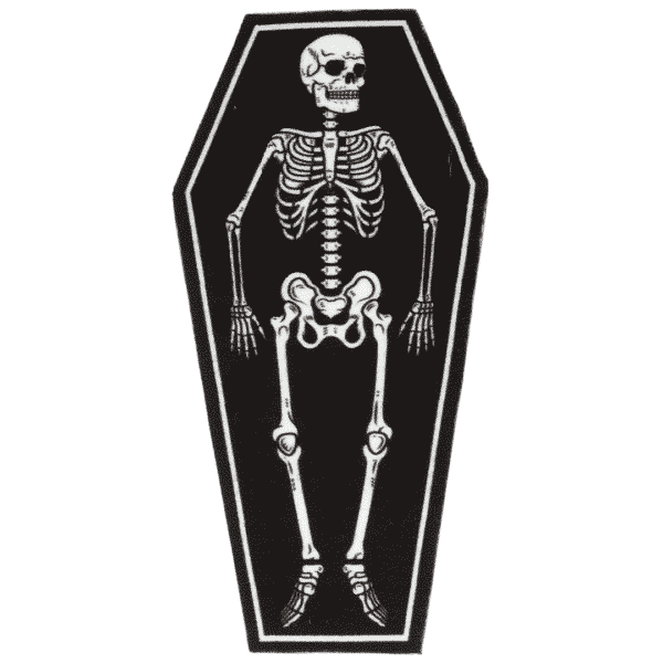 Skeleton Rug by Sourpuss Clothing