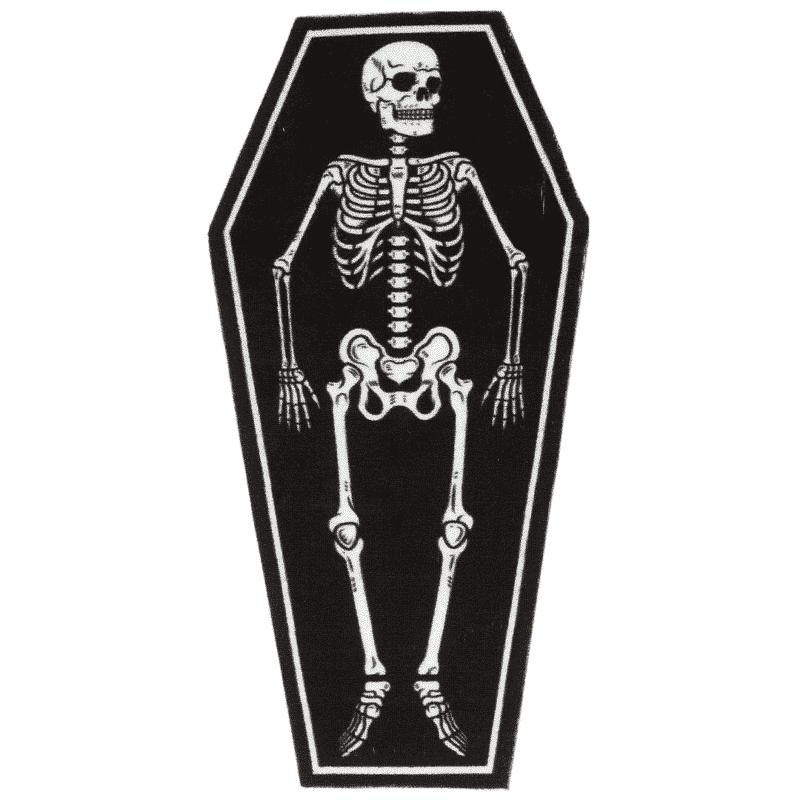 Skeleton Rug by Sourpuss Clothing