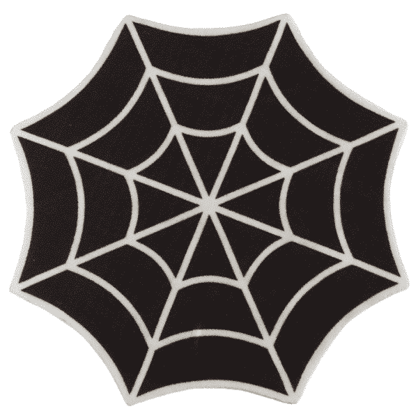 Spiderweb Rug by Sourpuss Clothing