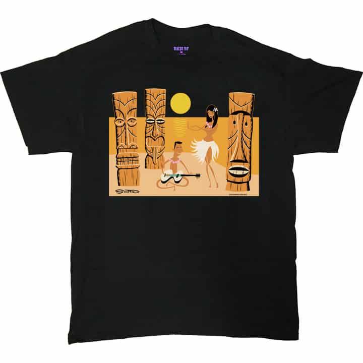 Shag Tiki Beach T-Shirt