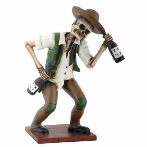 Day of the Dead El Borracho Figurine / Dia de los Muertos 1