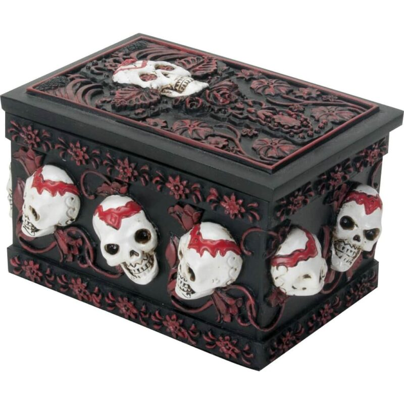 Day of the Dead Skull Box / Dia de los Muertos 1