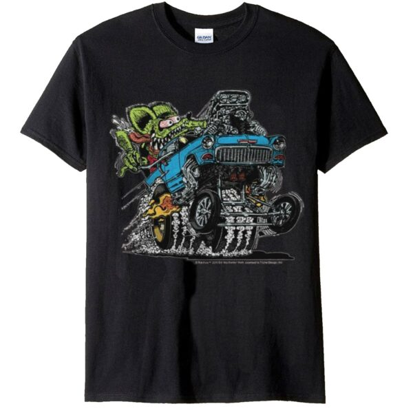Rat Fink 55' Blue Chevy T-Shirt