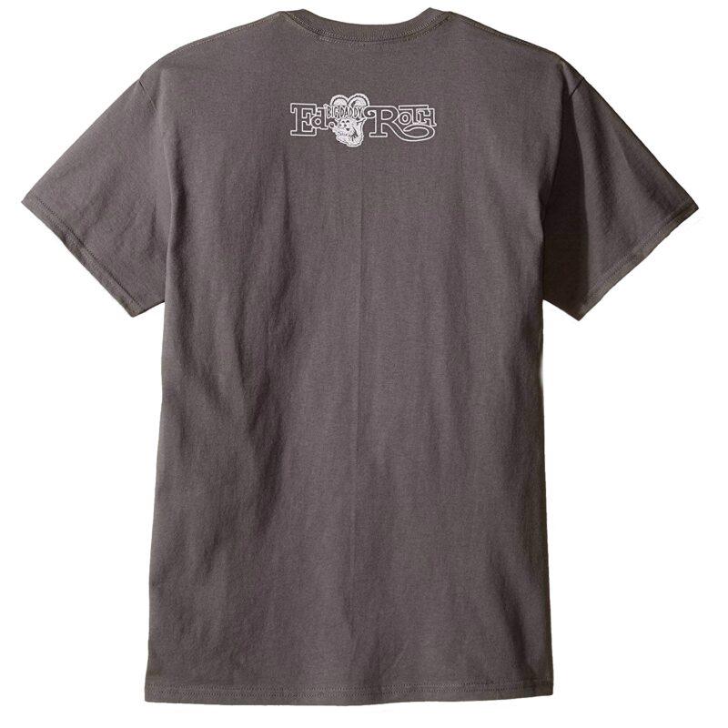 Rat Fink Sidewalk Surfer Gray T-Shirt 1