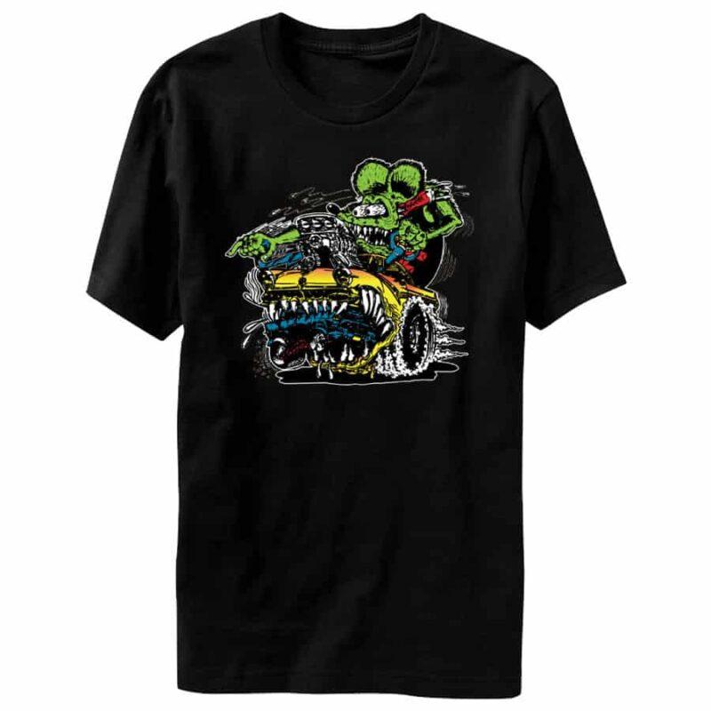 Rat Fink Car Eater T-Shirt