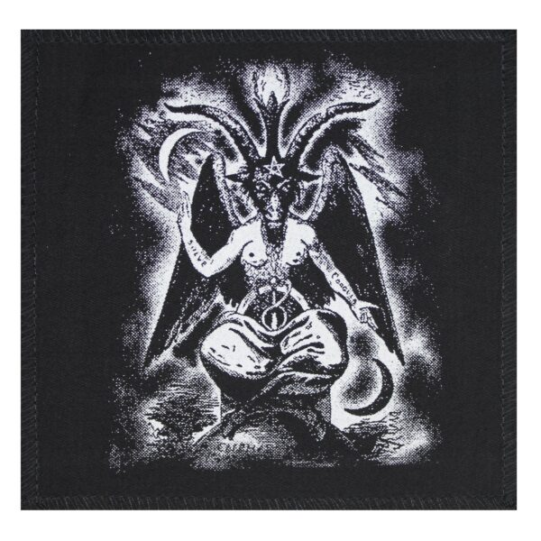 Baphomet Cloth Patch