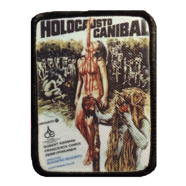 Cannibal Holocaust Embroidered Patch