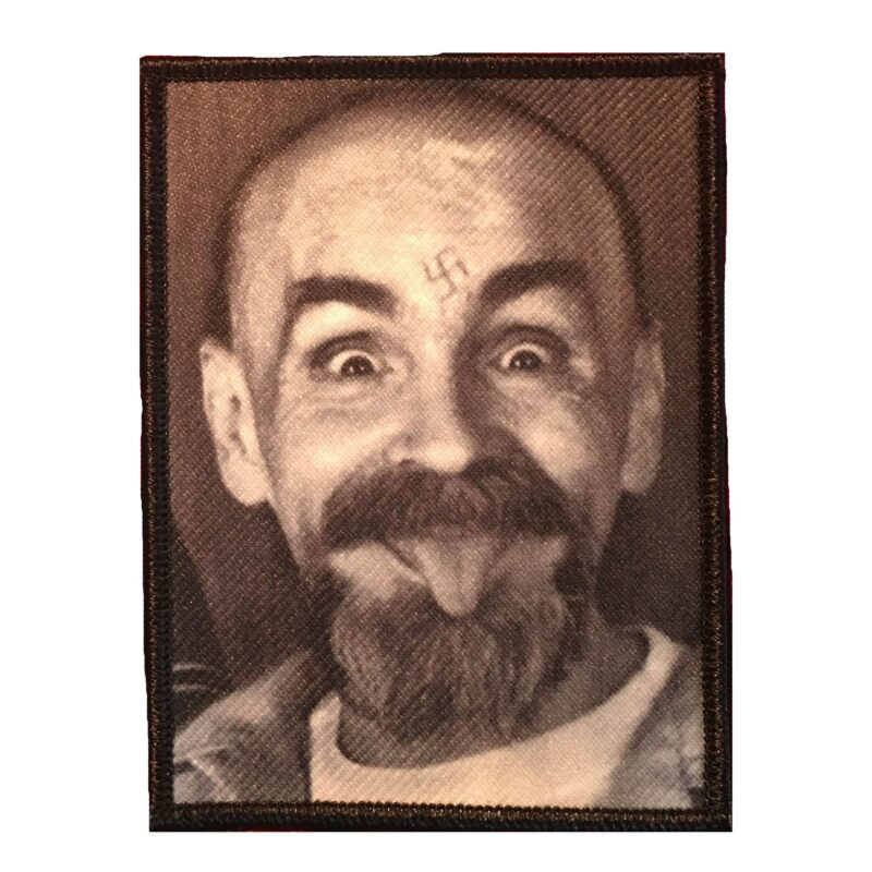 Charles Manson Patch