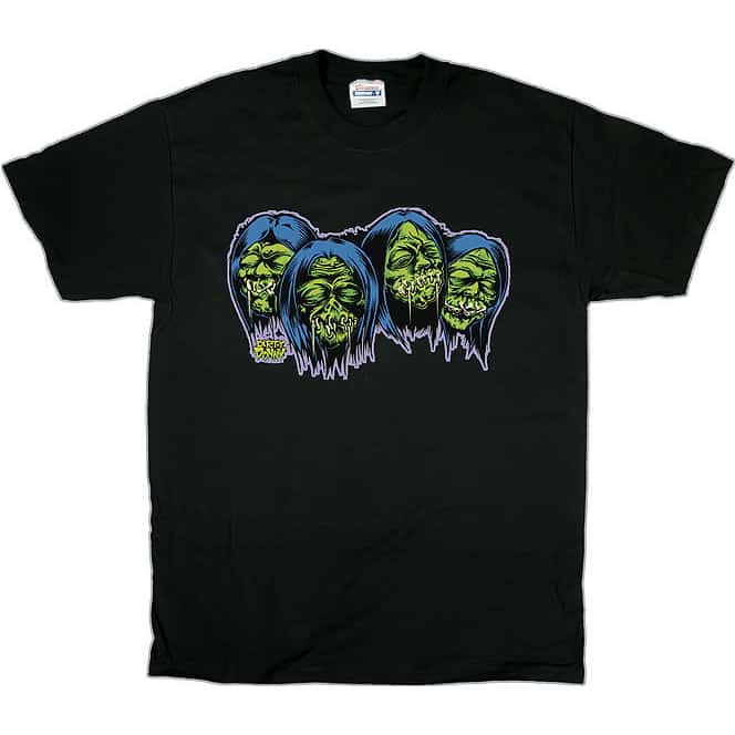 Dirty Donny Shrunken Heads T-Shirt 1