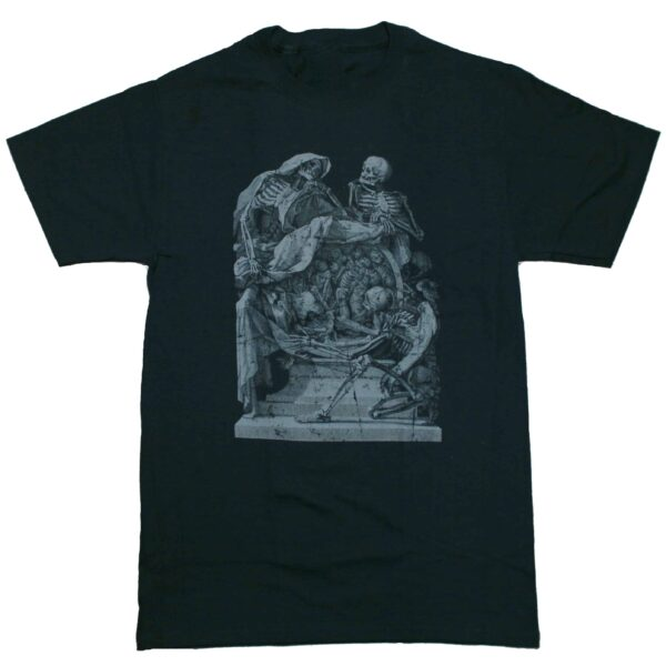Gothic Skeleton Frontispiece T-Shirt