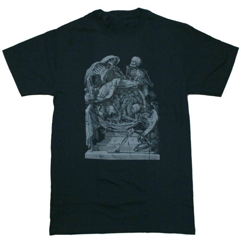 Gothic Skeleton Frontispiece T-Shirt