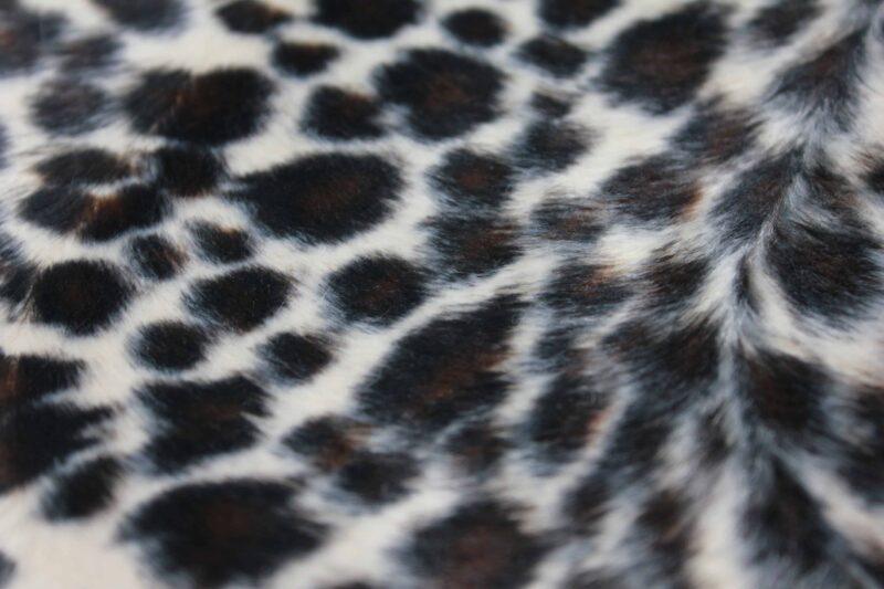 Leopard Print Fabric Brown 2